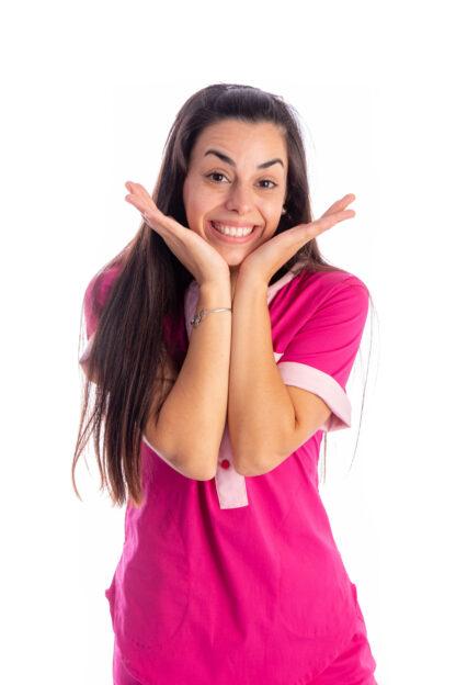 Modelo Arciel Leontina Link Pink